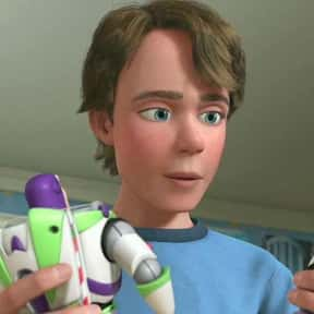 Andy is listed (or ranked) 13 on the list The Best Toy Story Characters in the Whole Series, Ranked