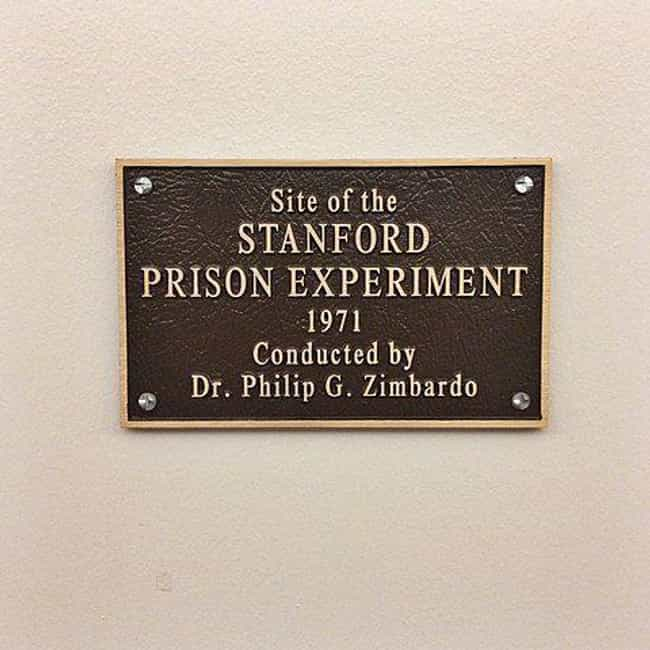 Stanford prison experime... is listed (or ranked) 2 on the list Famous Studies On Humans That Could Never Happen Today