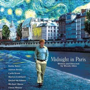 Midnight in Paris is listed (or ranked) 4 on the list The Best Woody Allen Movies