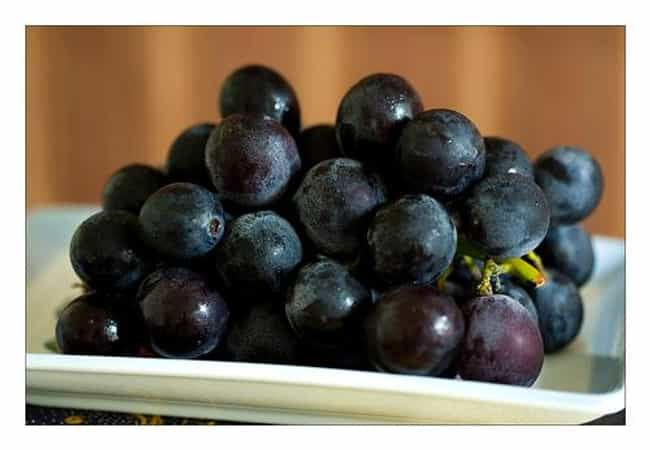 Grapes is listed (or ranked) 2 on the list What Did Passengers Eat On The Titanic?