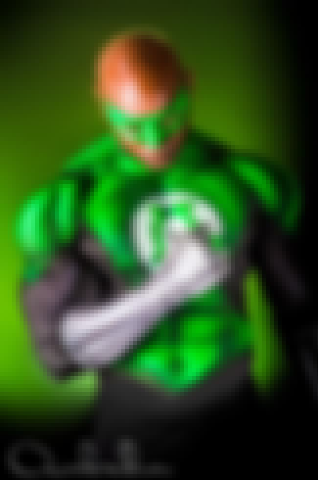 Green Lantern is listed (or ranked) 3 on the list 17 Gorgeous Superhero Cosplays Made Entirely Out Of Body Paint
