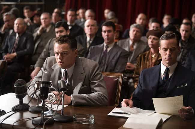 J. Edgar is listed (or ranked) 2 on the list Oscar Bait Movies That Utterly Failed To Bait Any Oscars