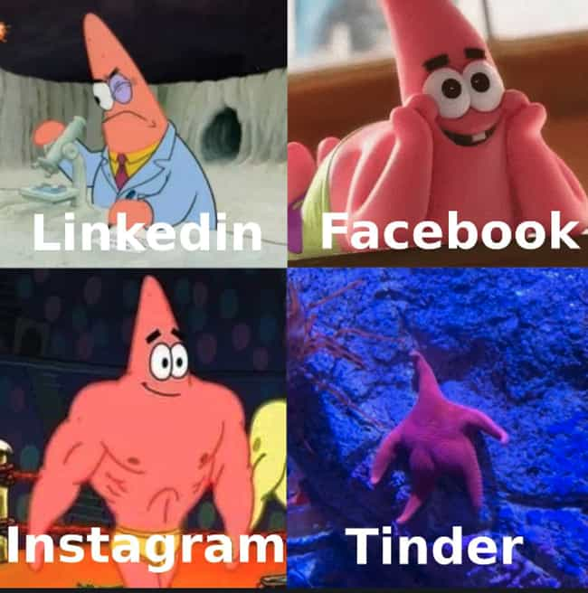 Patrick Star is listed (or ranked) 4 on the list A Dolly Parton Tweet Started A Meme Sensation And Here Are The Funniest Examples