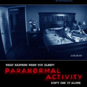 Paranormal Activity is listed (or ranked) 4 on the list The Best Ghost Movies On Netflix Right Now