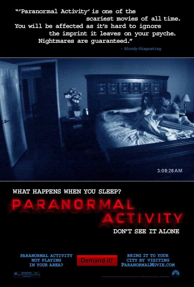 Paranormal Activity is listed (or ranked) 2 on the list What to Watch If You Love Unfriended
