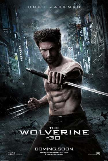 The Wolverine is listed (or ranked) 1 on the list The Worst Comic Book Movie Posters