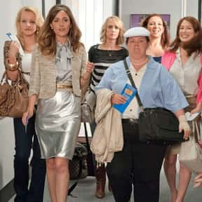 Bridesmaids is listed (or ranked) 1 on the list The Funniest Female-Led Comedy Movies Ever Made
