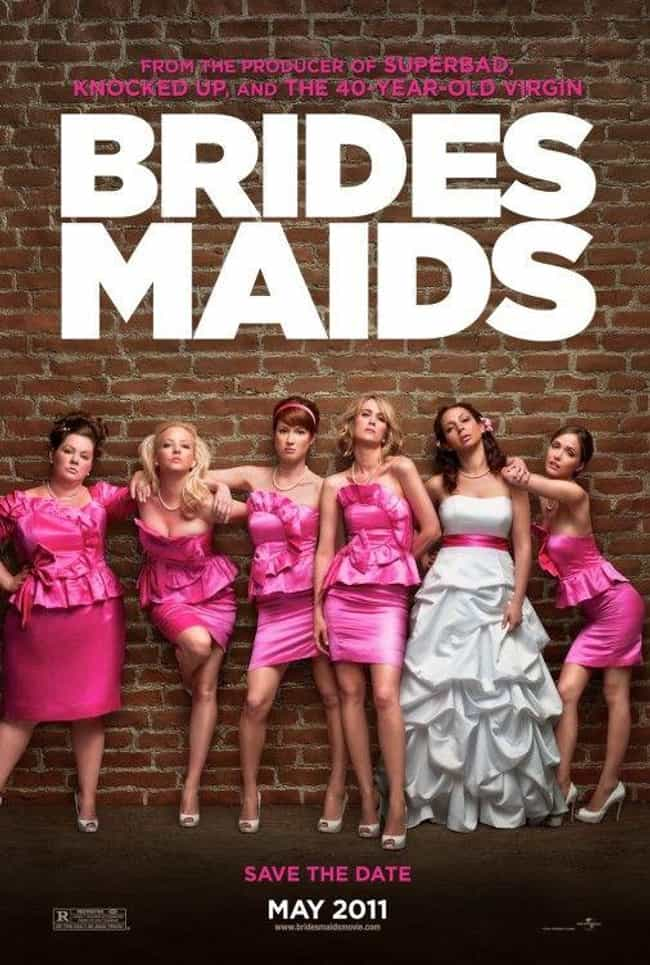 Bridesmaids is listed (or ranked) 4 on the list What to Watch If You Love Forgetting Sarah Marshall