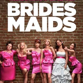 Bridesmaids is listed (or ranked) 10 on the list The Best Romance Movies Rated R