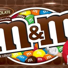 M&Ms is listed (or ranked) 2 on the list The Best Movie Theater Snacks