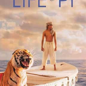 Life of Pi is listed (or ranked) 11 on the list The Best CGI Adventure Movies