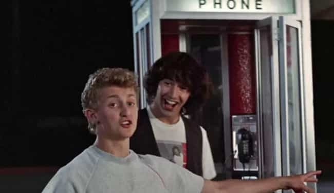 Bill & Ted is listed (or ranked) 2 on the list The Best Fictional Time Machines (As Opposed To Real Ones)