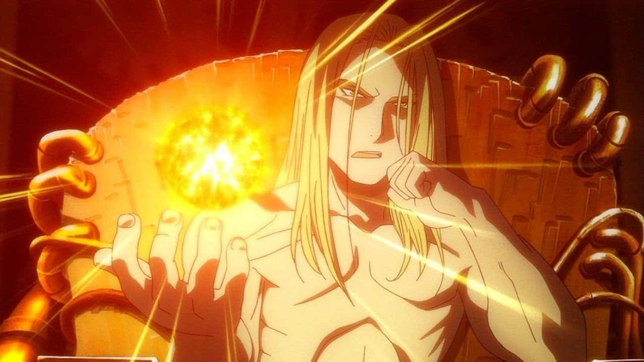 Father Absorbed A God In 'Fullmetal Alchemist: Brotherhood'