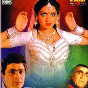 Nagina is listed (or ranked) 6 on the list The Best Sridevi Kapoor Movies