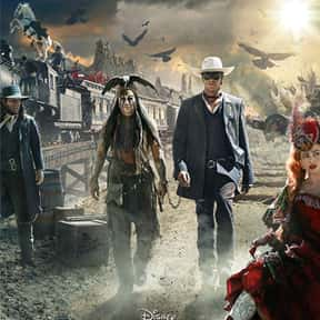 The Lone Ranger is listed (or ranked) 25 on the list The Best Johnny Depp Movies