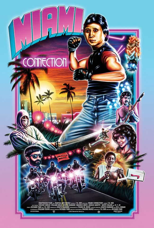 Miami Connection is listed (or ranked) 1 on the list The Most Ridiculous VHS Covers Ever. Ever.