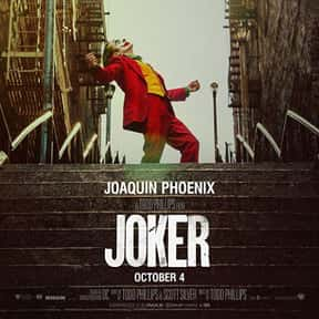 Joker is listed (or ranked) 11 on the list The Best Movies with a Psychotic Main Character