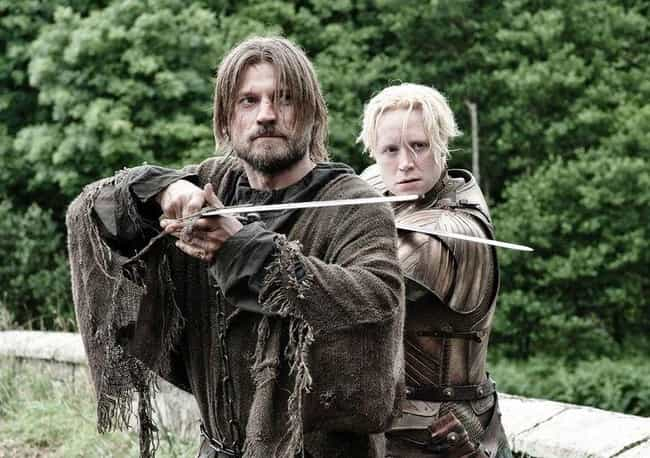 Jaime Lannister is listed (or ranked) 1 on the list None Of Your Favorite 'GoT' Characters Would Have Gotten Where They Are If It Wasn't For Brienne