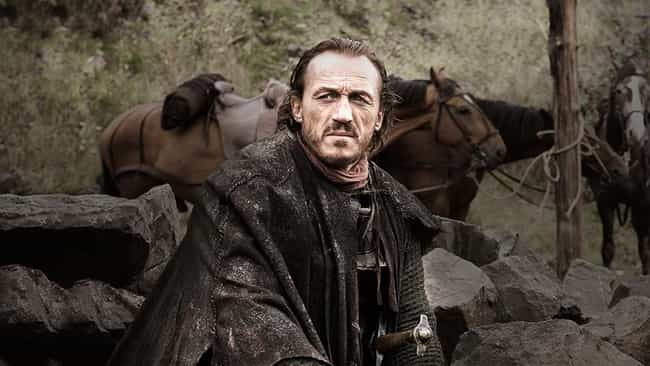 Bronn is listed (or ranked) 3 on the list The Most Badass Game of Thrones Characters
