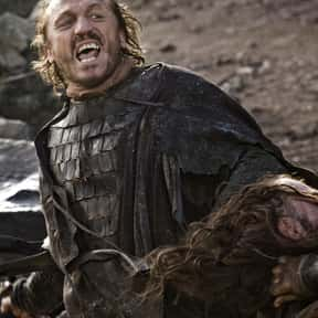 Bronn is listed (or ranked) 7 on the list The Most Hardcore Game of Thrones Characters