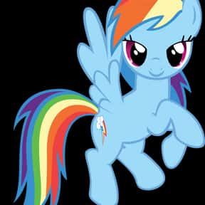 Rainbow Dash is listed (or ranked) 1 on the list The Best My Little Pony: Friendship Is Magic Characters