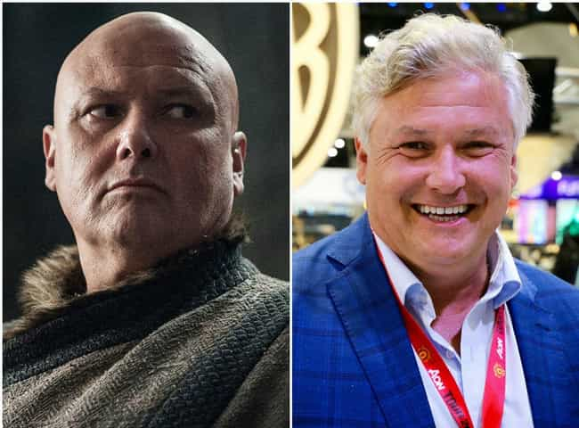 Lord Varys is listed (or ranked) 1 on the list Here's What The Game Of Thrones Characters Look Like Outside Of Westeros