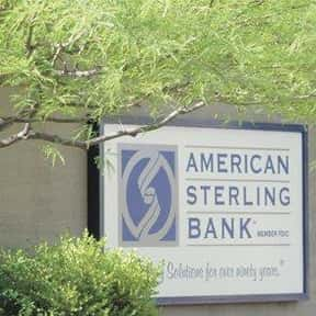 American Sterling Bank is listed (or ranked) 17 on the list List of Finance Companies