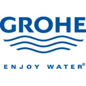 Grohe is listed (or ranked) 1 on the list The Best Bathroom Brands