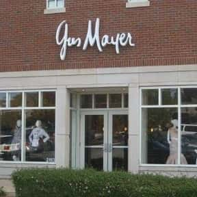 Gus Mayer is listed (or ranked) 17 on the list The Best American Department Stores