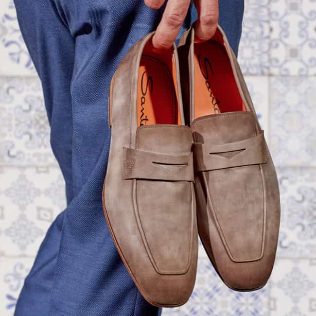Santoni is listed (or ranked) 1 on the list The Best Italian Shoe Brands For Men