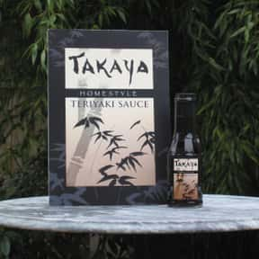 Takaya is listed (or ranked) 18 on the list The Best Teriyaki Sauce Brands