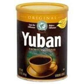 Yuban Coffee Company, The is listed (or ranked) 21 on the list The Best Packaged Coffee Brands