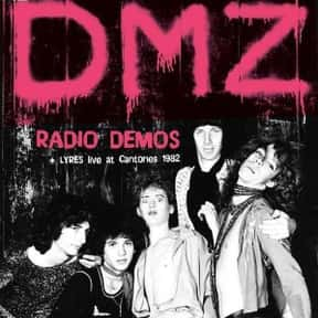 DMZ is listed (or ranked) 6 on the list Bomp! Records Complete Artist Roster