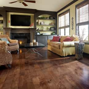 HomerWood Hardwood Flooring Co is listed (or ranked) 10 on the list The Best Laminate Flooring Brands