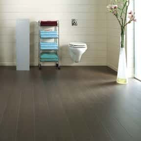 Aqua is listed (or ranked) 6 on the list The Best Laminate Flooring Brands