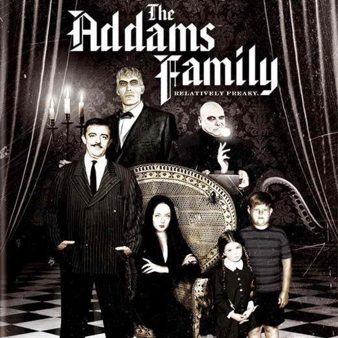The Addams Family is listed (or ranked) 3 on the list The Best Movies and Series in the Addams Family Franchise