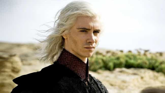 Viserys Targaryen is listed (or ranked) 4 on the list The Most Psychopathic Characters On 'Game Of Thrones'