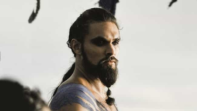 Khal Drogo is listed (or ranked) 2 on the list The Best Beards on Game of Thrones