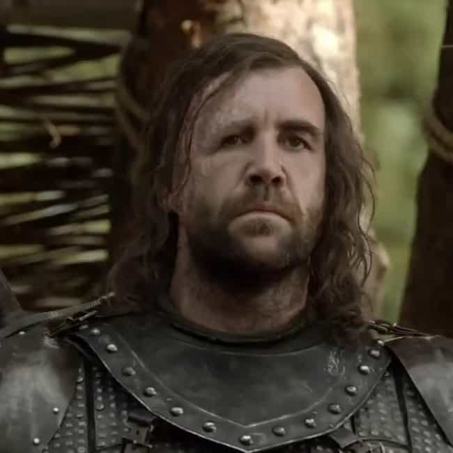 Sandor Clegane is listed (or ranked) 3 on the list All Free Agents on Game of Thrones