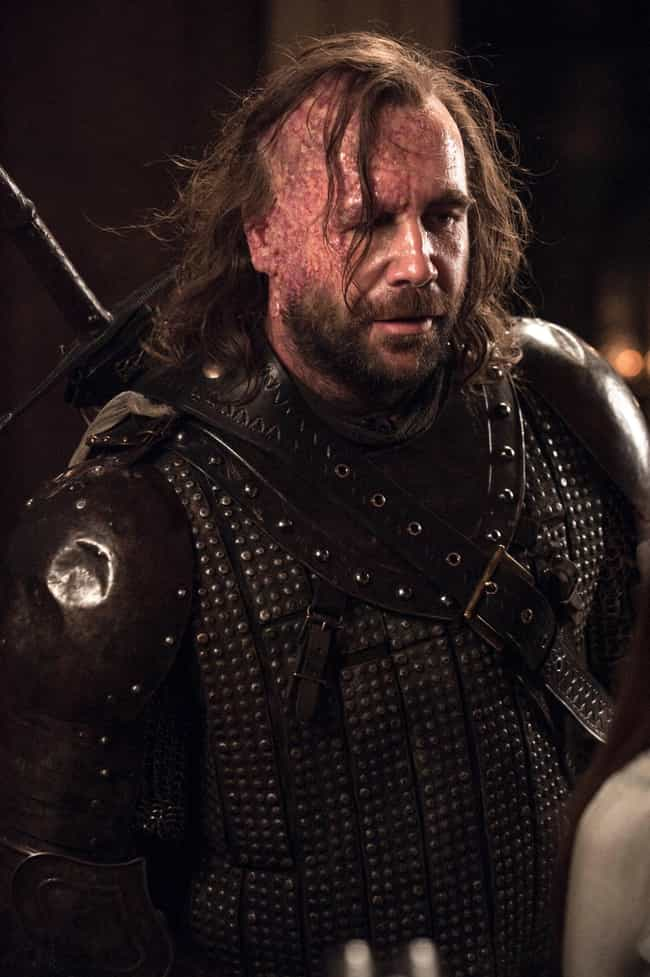 Sandor Clegane is listed (or ranked) 1 on the list The Most Badass Game of Thrones Characters