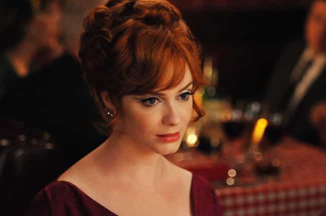 Joan Holloway is listed (or ranked) 3 on the list The Best Bangs That Ever Existed on Television