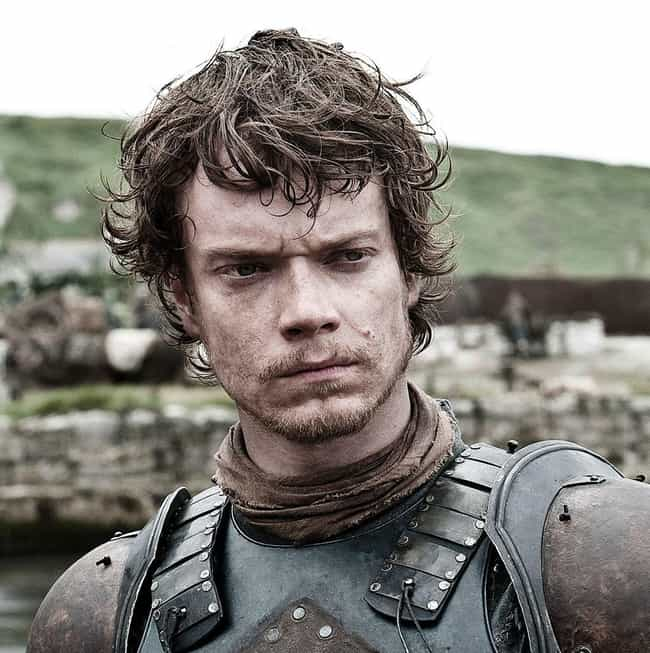 Theon Greyjoy is listed (or ranked) 3 on the list All Members of House Greyjoy