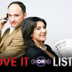 Love It or List It is listed (or ranked) 9 on the list The Best Home Improvement TV Shows