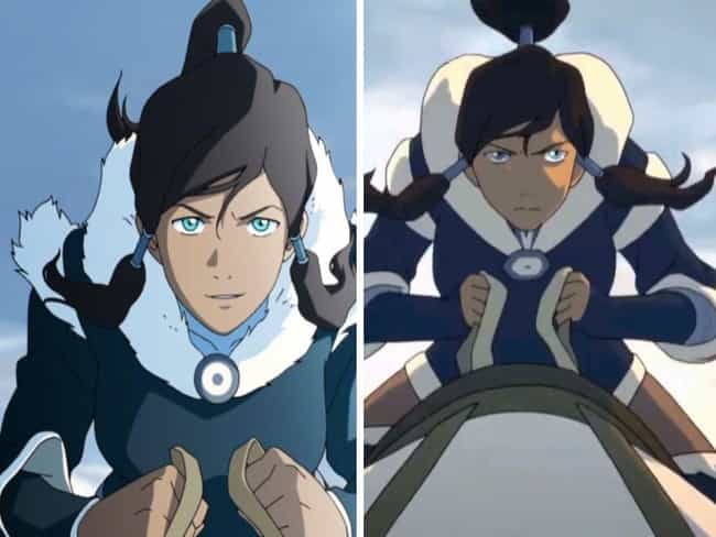 Avatar: Legend of Korra is listed (or ranked) 2 on the list How And Why The Animation In Your Favorite Cartoons Changed Over The Seasons