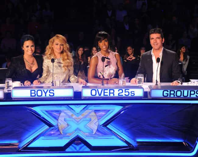The X Factor (U.S.) is listed (or ranked) 8 on the list The Best Simon Cowell Shows