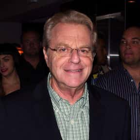 Jerry Springer is listed (or ranked) 13 on the list Famous Presenters from England