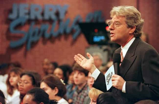 Jerry Springer is listed (or ranked) 1 on the list '90s Talk Show Hosts: Then and Now