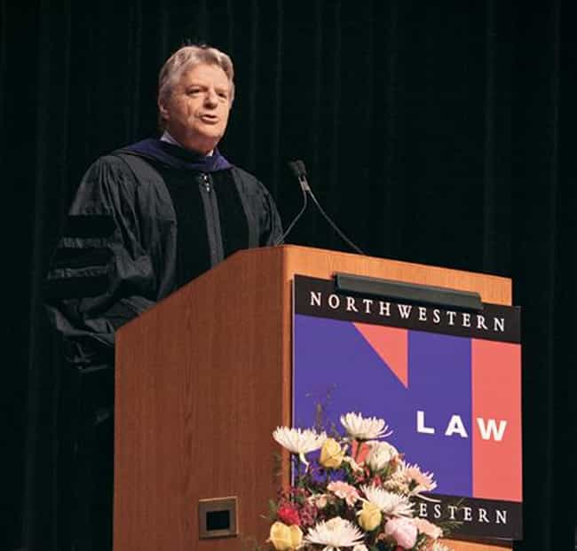 Jerry Springer is listed (or ranked) 4 on the list 29 Famous People Who Went to Law School