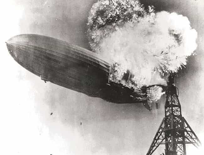 Hindenburg disaster is listed (or ranked) 1 on the list The 17 Most Tragic Blimp Disasters In History