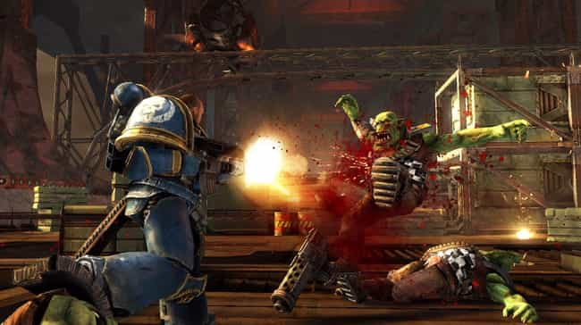 Warhammer 40,000: Space Marine is listed (or ranked) 3 on the list The 14 Best Sci-Fi Games You've Never Played